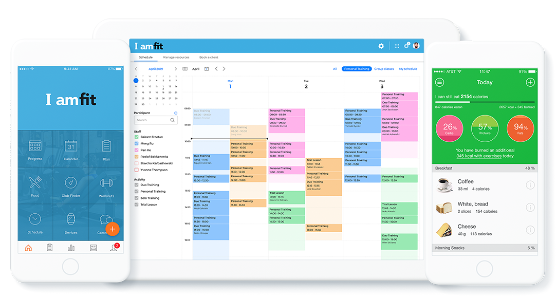 Mobile App Scheduling Nutrition
